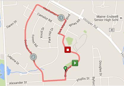 race-route