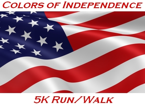 Colors of Independence 5K Run/Walk Banner